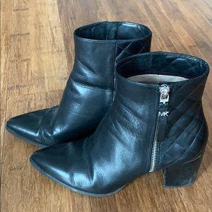 Michael kors black booties